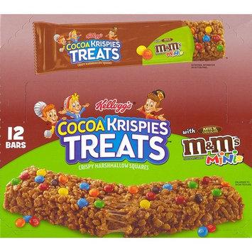 Rice Krispies Treats M&M'S Chocolate Candies Minis Square with Milk Chocolate Candies. 12 - 1.94 Oz Bars