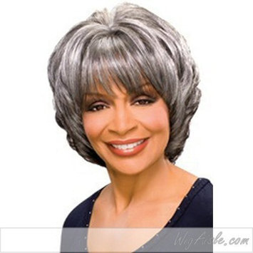MARGARET (Foxy Silver) - Synthetic Full Wig in 1B by Foxy Silver