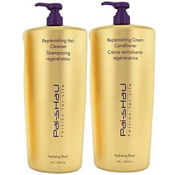 Pai Shau Replenishing Cleanser Shampoo & Cream Conditioner Set - GALLON