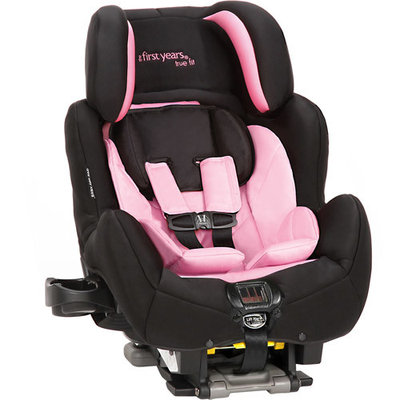 The First Years True Fit SI C680 Car Seat, Pop of Pink (Discontinued by Manufacturer)