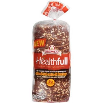 Generic Oroweat Healthfull Steel Cut Oats & Honey 100% Whole Grain Bread, 20 oz