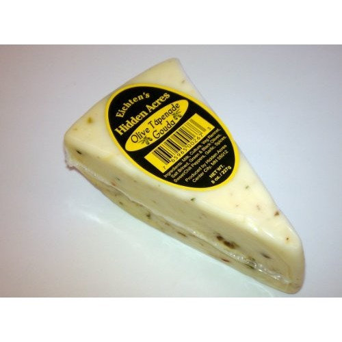 Olive Tapenade Gouda Cheese (2-8 oz Wedges)