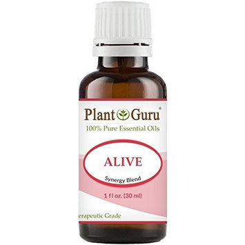 Alive Synergy Essential Oil Blend 30 ml. 100% Pure, Undiluted, Therapeutic Grade. Anxiety, Depression, Relaxation, Boost Mood, Uplifting, Calming, Aromatherapy, Diffuser.