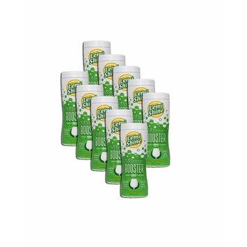 PACK OF 10 - Lemi Shine Dish Detergent Booster, Powder Detergent Additive,12 oz