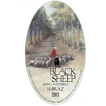 2011 Black Sheep Winery Sierra Foothills Shiraz 750 mL