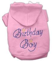 Mirage Pet Products 5410 SMPK Birthday Boy Hoodies Pink S 10