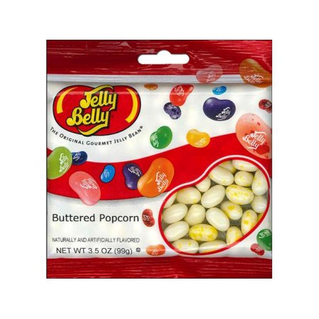 Jelly Belly Candy JLB66137 Jelly Beans Buttered Popcorn 3.5 Oz. - Pack Of 3