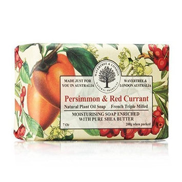 Wavertree & London Persimmon & Red Currant luxury soap (1 bar) by Australian Natural Soap