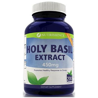 Vitamins Because Holy Basil 450mg 200 Capsules