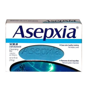 Asepxia Soap Scrub (blue) 3.52 oz - Jabon Exfoliante Azul (Pack of 24)