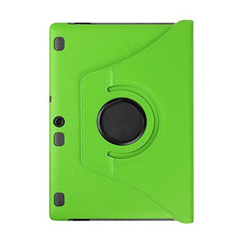 For Lenovo Tab 2 A10-70F TOOPOOT Leather Flip Stand Case For Lenovo Tab 2 A10-70F (green)