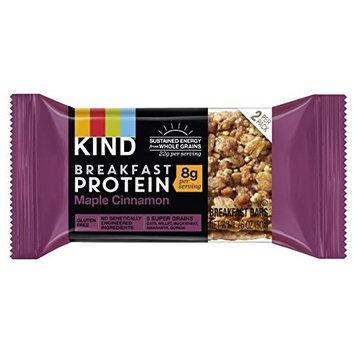 KIND Breakfast Protein Bars, Maple Cinnamon, Gluten Free, Non GMO, 1.76oz, 32 Count [Maple Cinnamon Protein]