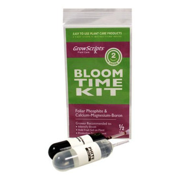 Growscripts 2PC Bloom-Time Kit for Larger Plants Ready to Bloom