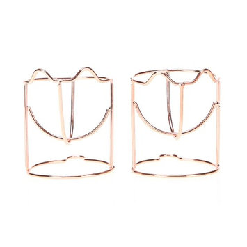 Yihaojia 2PCS Makeup Beauty Powder Puff Sponge Display Stand Makeup Sponge Holder