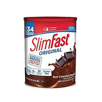 SlimFast! Chocolate Royale Shake Mix, 1Pack (31.18 oz Each) Yhkbaq