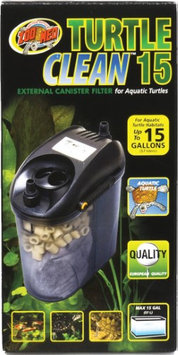 Zoo Med Laboratories, Inc. TURTLE CLEAN 15 EXTERNAL CANISTER FILTER UP TO 15 GALLON