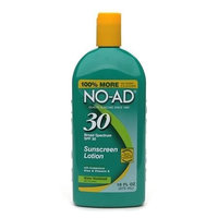 NO-AD Sunscreen Lotion, SPF 30 16.0 fl oz(pack of 3)