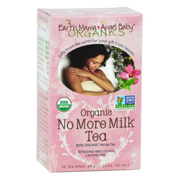Organic No More Milk Tea Earth Mama Angel Baby 16 Bag