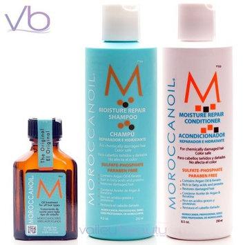 Moroccanoil Trio Pkg:Shampoo(8.5oz)Conditioner(8.5oz)Oil Treatment (.85oz)