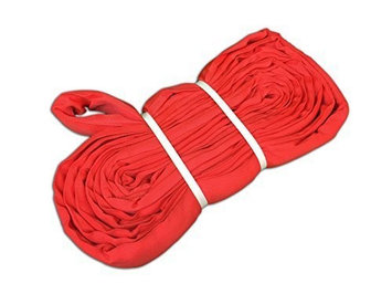 KwikSafety High Tensile Endless Type, Polyester, Heavy Duty, Safety, Crane, Equipment, Lifting, Rigging, Certified and Tested, Round Sling with 13200 Pounds Vertical Load Capacity, Size 3' x 16'