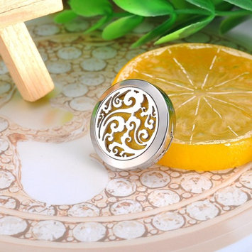 Clouds Round Aromatherapy Perfume Essential Oil Diffuser Locket Lapel Chest Pin
