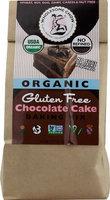 Wholesome Chow Organic Gluten Free Cake Mix Chocolate 11.7 oz - Vegan
