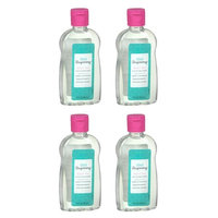 (4 Pack) Well Beginnings Baby Oil Hypoallergenic Moisturizing Travel Size 3oz: Beauty