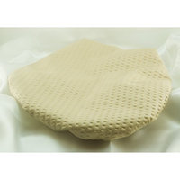 XX Large 26 Inches- WHITE-Mic_Shower Cap Made with Satin & Microfiber Waterproof / Water Repellent Fabric