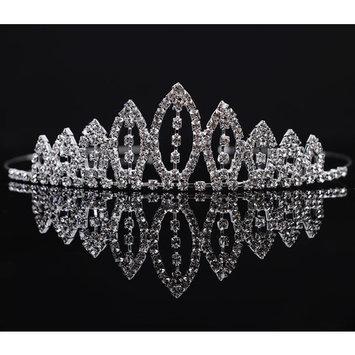 Girl's Rhinestone Tiara Crown Little Princess Sweet Hair Accessory