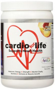 Health Guardian CardioForLife - 16 oz. Powder w/ AstraGin - Peach Flavor