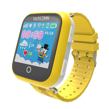 TechComm TD-10 Kids Smartwatch for T-Mobile ONLY with Touch Screen, Fitness Tracker and GPS