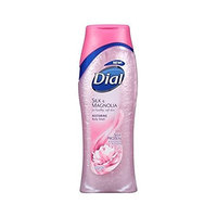 Dial Moisturizing Body Wash, Silk & Magnolia with Silk Protein and Magnolia Blossom, 16 oz, (Pack of 2)