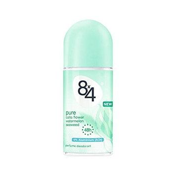 8x4 Pure Perfume Deodorant Roll-On Aluminum Free 50 ml/1.7 fl oz