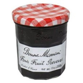 Bonne Maman Four Fruit Preserves 12x 13Oz