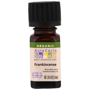 Aura Cacia, Organic, 100% Pure Essential Oil, Frankincense, .25 fl oz (7.4 ml)