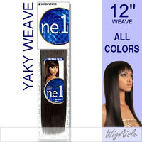 Motown Tress (NYW-12) - Human Hair Blend Weave in P1B_30