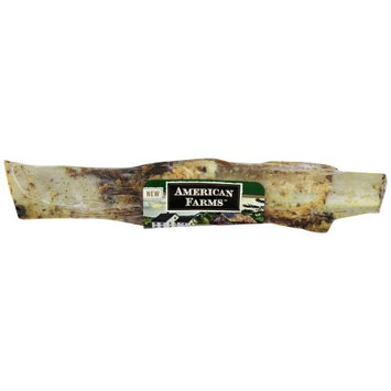 American Farms 481039 25 Count Bulk Natural Beef Rib Bone For Pets