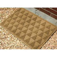 Bungalow Flooring 24 in. L x 36 in. W Gold Waterguard Pine Trees Mat