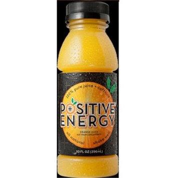 Positive Energy Orange Juice Caffenated (12x10OZ )
