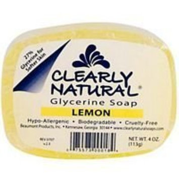 Clearly Natural Clearly Nat Soap Lemon 4 Oz by Clearly Natural
