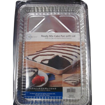 Mainstays Ready Mix Cake Pan with Lid