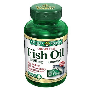Nature's Bounty Fish Oil 1000 mg Strength Softgel Supplements