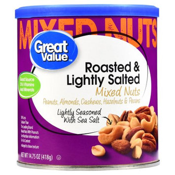 Great Value Roasted & Lightly Salted Mixed Nuts