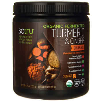 Tumeric & Ginger Drink Mix SoTru 4.76 oz (135 g) Powder