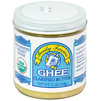 Purity Farms Ghee Clarified Butter, 13 oz, (Pack of 12)