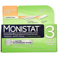 MONISTAT 3 Combination Pack 3 EA - Buy Packs and SAVE (Pack of 4)