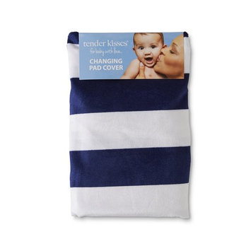 Tender Kisses Infants' Changing Pad Cover - Striped