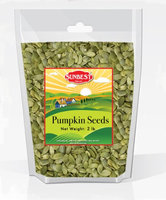 SUNBEST Pumpkin Seeds Raw, No Shell (2 LBS) in Resealable Bag