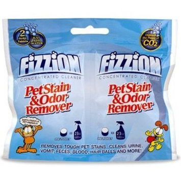 Fizzion Pet Stain & Odor Remover Refill Tablets, best pet stain and odor remover for carpet