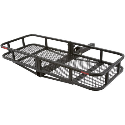 Folding Hitch Cargo Carrier Basket for 2
